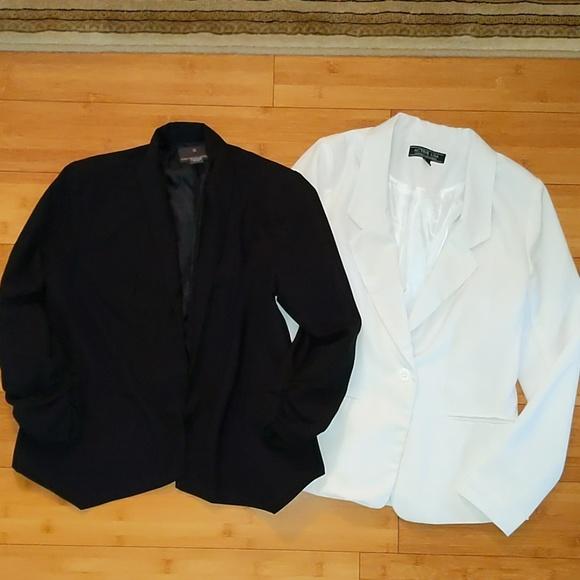 Fenn Wright Manson Jackets & Blazers - Bundle 2 small blazers black and white